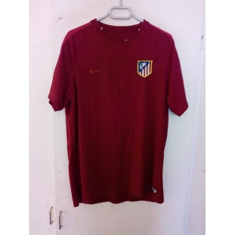 T-shirt NIKE Red, burgundy