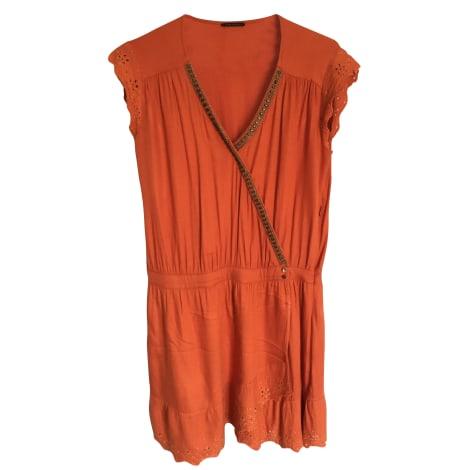 Robe courte IKKS Orange