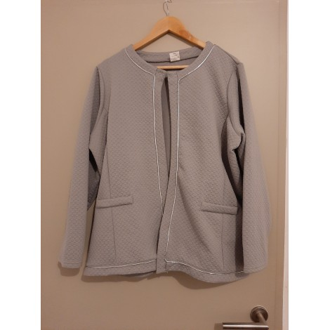 Gilet, cardigan CLAIRE NEUVILLE Gris, anthracite