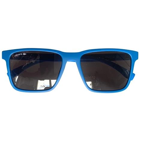 Lunettes de soleil LACOSTE Bleu, bleu marine, bleu turquoise