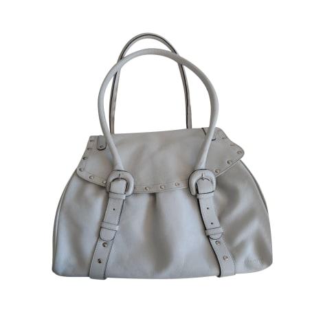 Lederhandtasche LE TANNEUR Weiß, elfenbeinfarben