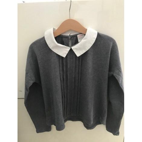 Top, Tee-shirt LITTLE KARL MARC JOHN Gris, anthracite