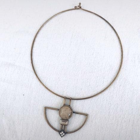 Collier MARQUE INCONNUE Doré, bronze, cuivre