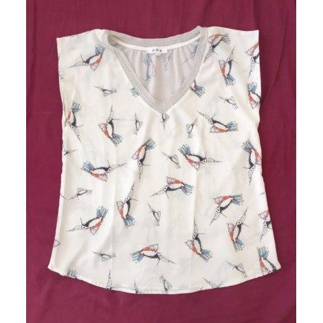Top, tee-shirt GOA Blanc, blanc cassé, écru