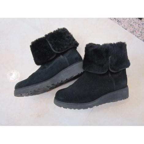 High Heel Ankle Boots UGG Black