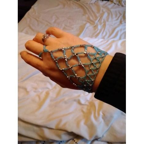 Bracelet MARQUE INCONNUE Bleu, bleu marine, bleu turquoise