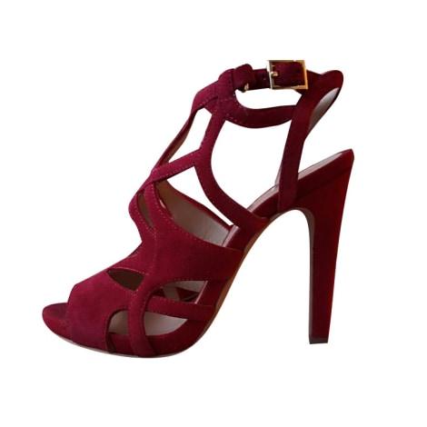Sandales à talons BRUNO PREMI Rouge, bordeaux