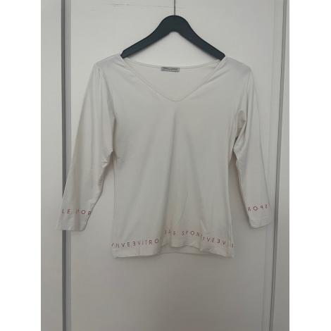 Top, tee-shirt MARIELLA BURANI Blanc, blanc cassé, écru