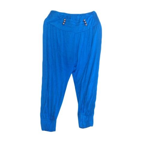 Pantacourt, corsaire MARQUE INCONNUE Bleu, bleu marine, bleu turquoise