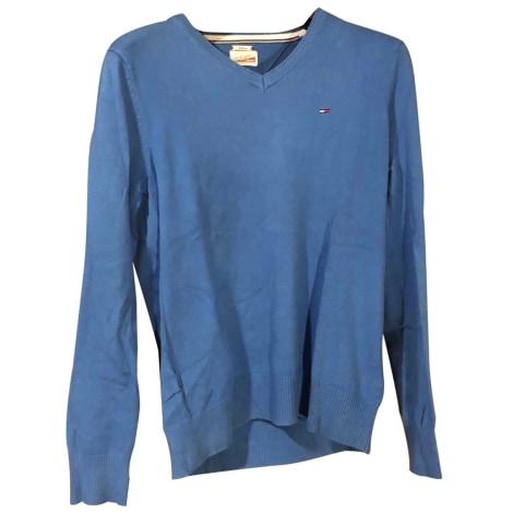 Sweat TOMMY HILFIGER Bleu, bleu marine, bleu turquoise