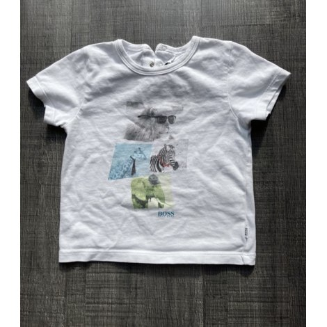 Top, tee shirt HUGO BOSS Blanc, blanc cassé, écru