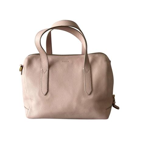 Lederhandtasche FOSSIL Pink,  altrosa