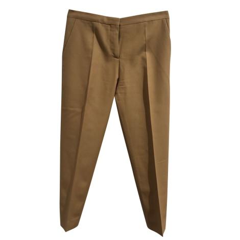 Pantalon slim, cigarette MARNI Beige, camel