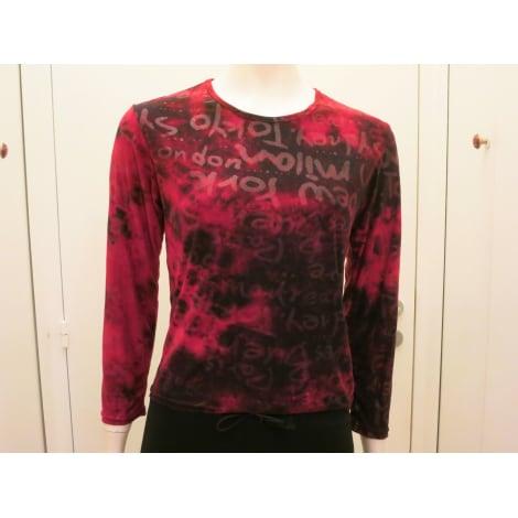 Top, tee-shirt FILLES DU MONDE Rouge, bordeaux