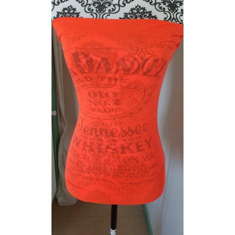Top, tee-shirt MARQUE INCONNUE Orange