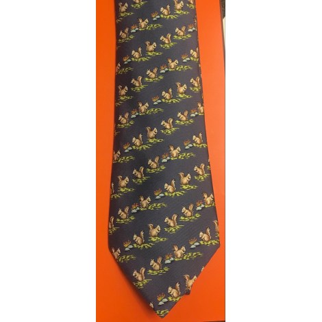 Cravate HERMÈS Imprimés animaliers