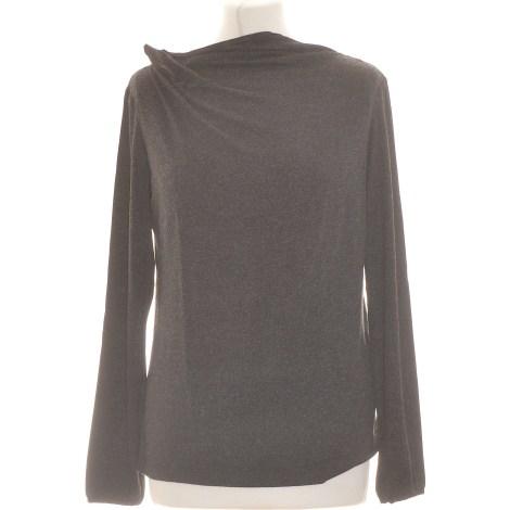 Top, tee-shirt JACQUELINE RIU Gris, anthracite