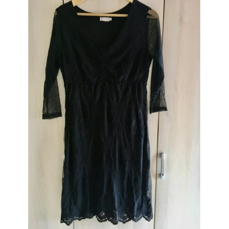 Robe mi-longue JACQUELINE RIU Noir