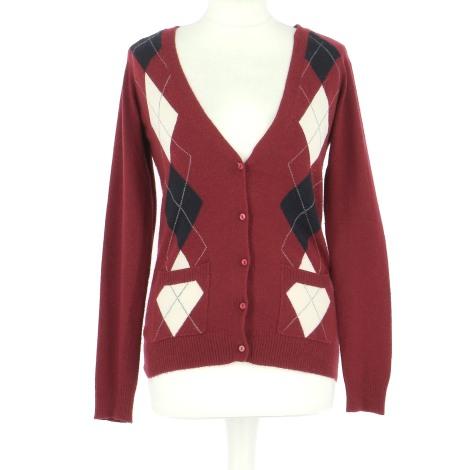 Gilet, cardigan BEST MOUNTAIN Rouge, bordeaux