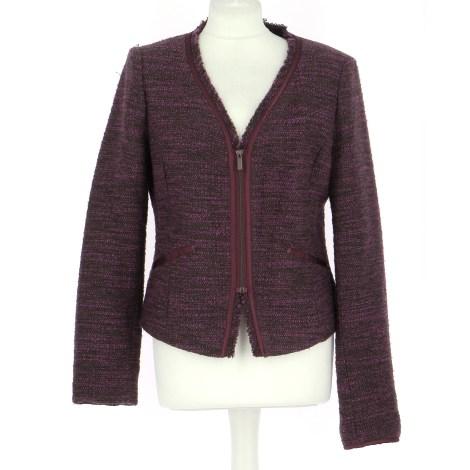 Jacket ALAIN MANOUKIAN Purple, mauve, lavender