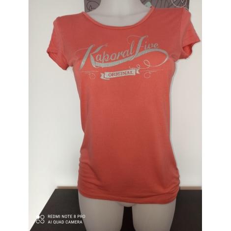 Top, tee-shirt KAPORAL Orange