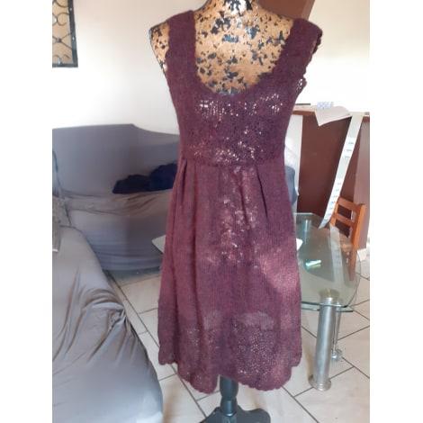Robe mi-longue CORINNE SARRUT Violet, mauve, lavande