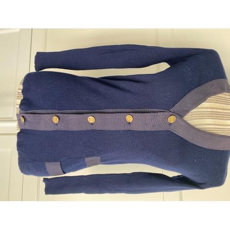 Gilet, cardigan SALVATORE FERRAGAMO Bleu, bleu marine, bleu turquoise