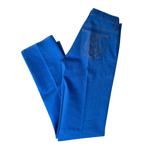 Jeans droit LOVE MOSCHINO Bleu, bleu marine, bleu turquoise