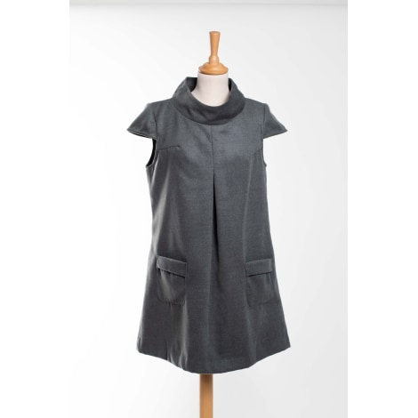 Robe courte BY ZOE Gris, anthracite