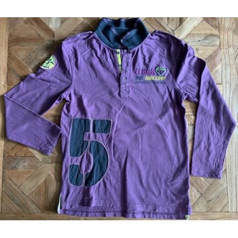 Polo ORCHESTRA Violet, mauve, lavande