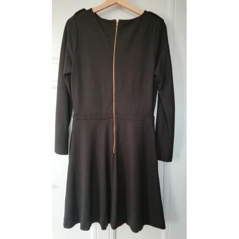 Robe longue LAURA CLÉMENT Noir