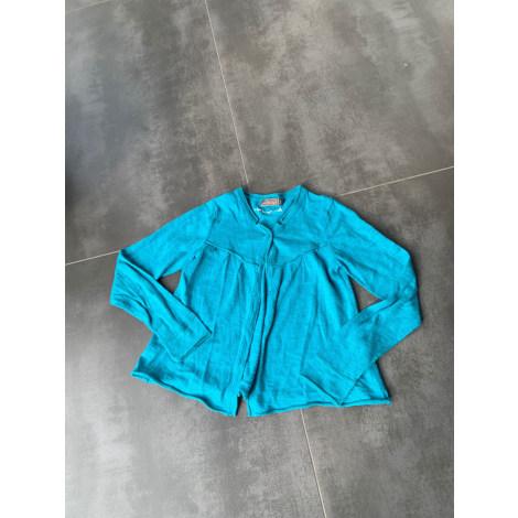 Gilet, cardigan JEAN BOURGET Bleu, bleu marine, bleu turquoise