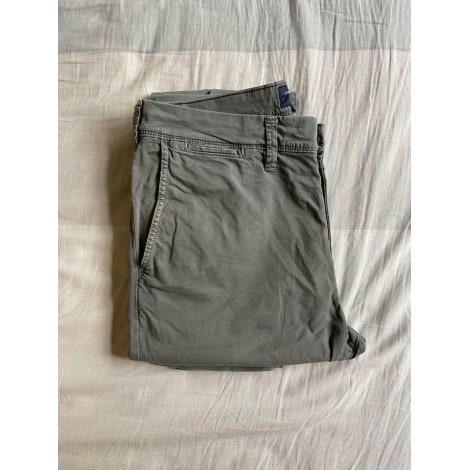 Pantalon droit AMERICAN EAGLE OUTFITTERS Gris, anthracite