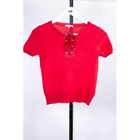 Top, tee-shirt PAULE KA Rouge, bordeaux