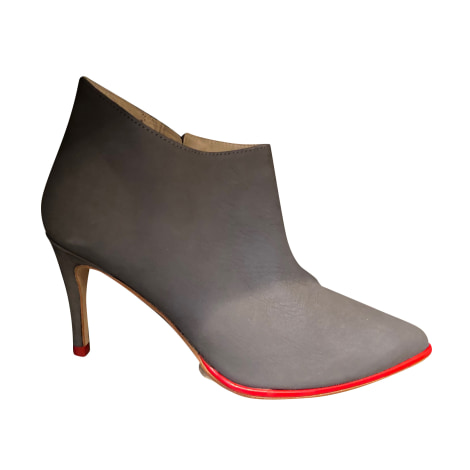 Bottines & low boots à talons MELLOW YELLOW Gris, anthracite