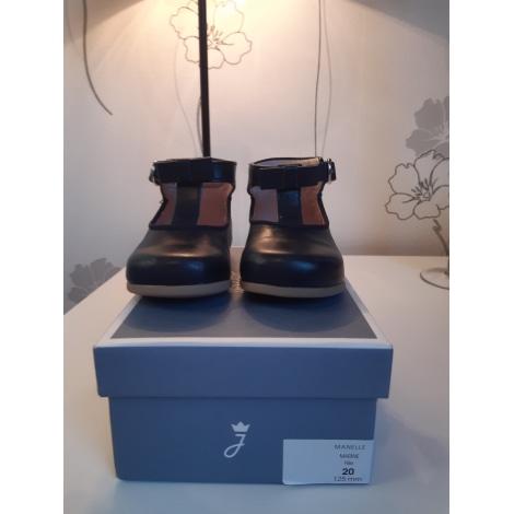 Chaussures à boucle JACADI bleu marine
