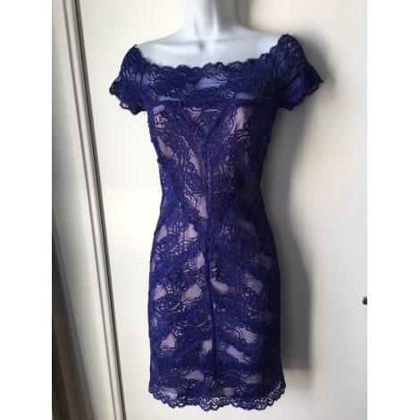 Robe courte NICOLE MILLER Bleu, bleu marine, bleu turquoise