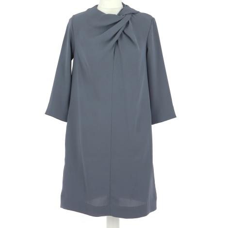 Robe mi-longue COS Gris, anthracite