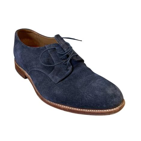 Chaussures à lacets GRENSON Bleu, bleu marine, bleu turquoise