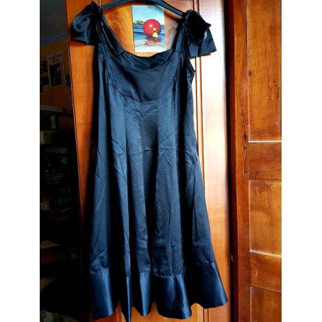 Robe mi-longue DIDIER PARAKIAN Noir