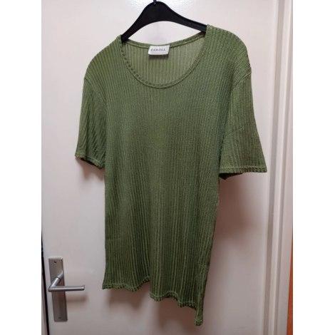 Top, tee-shirt CAROLL Vert