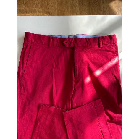 Pantalon droit VICOMTE A. Rouge, bordeaux