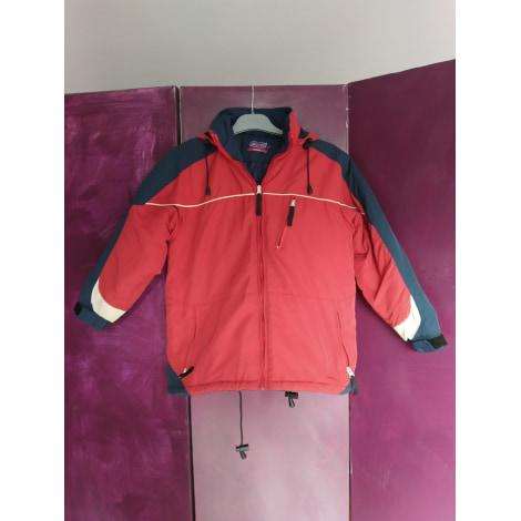 Manteau LIBERTEES Rouge, bordeaux