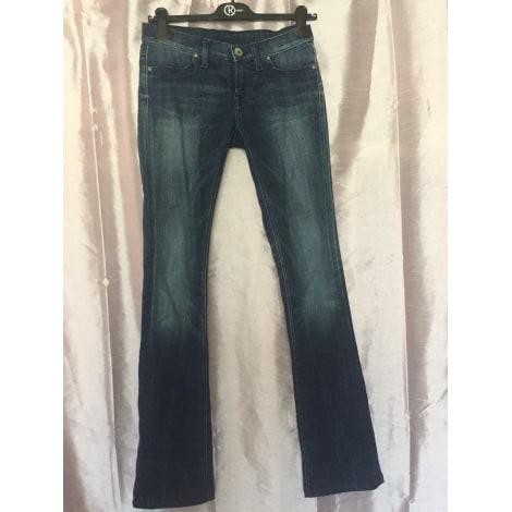 Jeans évasé, boot-cut FREESOUL Bleu, bleu marine, bleu turquoise