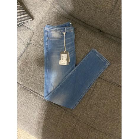 Jeans droit JAGGY Bleu, bleu marine, bleu turquoise