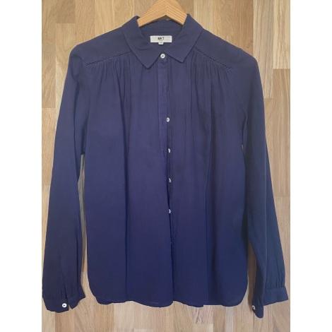 Chemise MKT Bleu, bleu marine, bleu turquoise