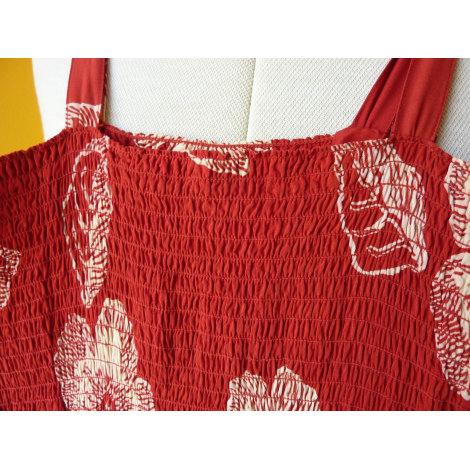 Robe longue UNANYME DE GEORGE RECH Rouge, bordeaux