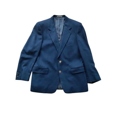 Veste de costume LORO PIANA Bleu, bleu marine, bleu turquoise