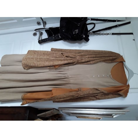 Tailleur robe MADE IN ITALIE Beige, camel