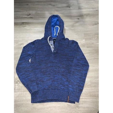 Pull CELIO Bleu, bleu marine, bleu turquoise